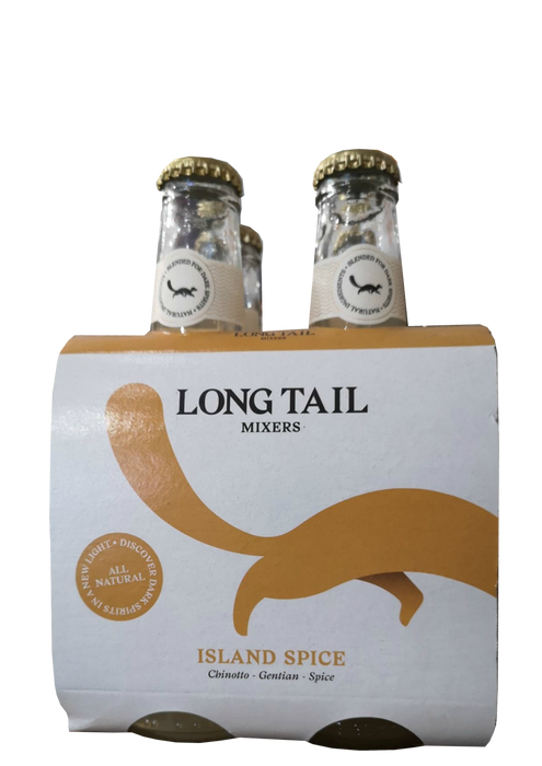 Long Tail Mixers Spice x4