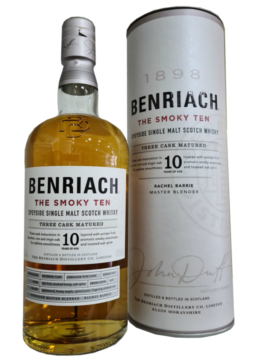 Copy of Benriach The Smoky Ten Three Cask Matured