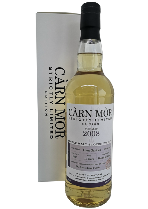 Càrn Mòr Glen Garioch 11 Year Old 2008 Strictly Limited