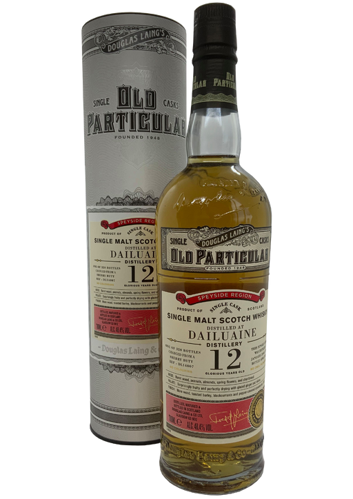 Douglas Laing Old Particular Dailuaine 12 Year Old 2008 Sherry Cask