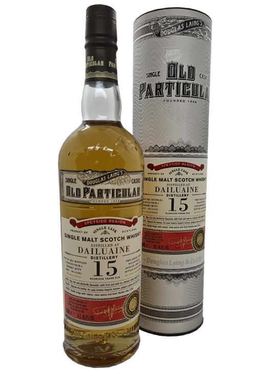 Douglas Laing Old Particular Dailuaine 15 Year Old Sherry Butt