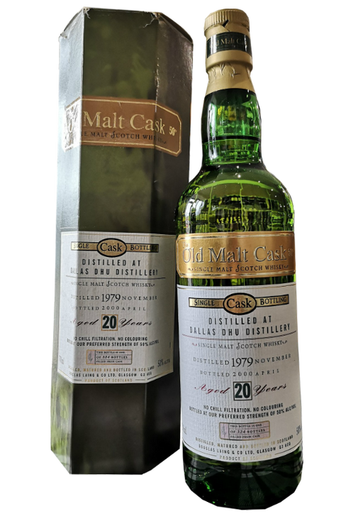 Dallas Dhu 20 Year Old Old Malt Cask 1979