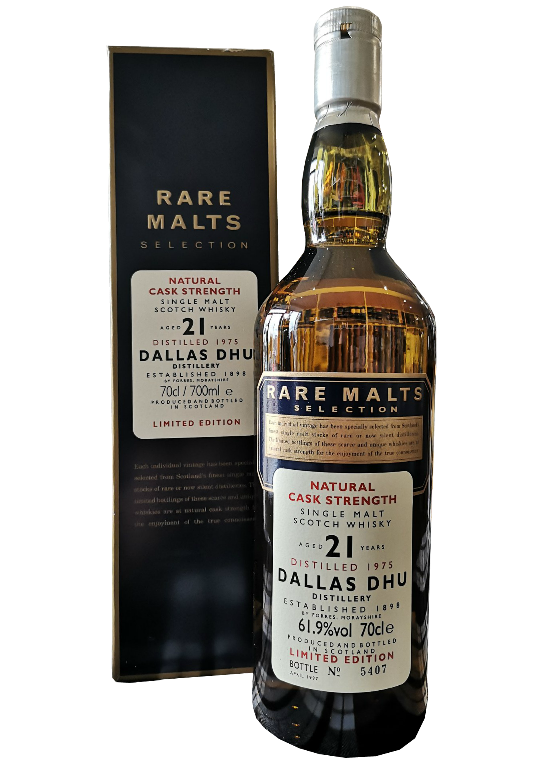 Dallas Dhu 21 Year Old Rare Malts
