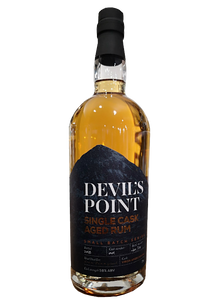Devil's Point Virgin Oak Rum Batch 001