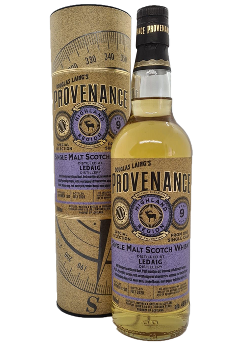 Douglas Laing Provenance Ledaig 9 Year Old
