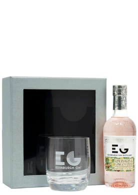 Edinburgh Rhubarb & Ginger Liqueur 20cl Gift Pack