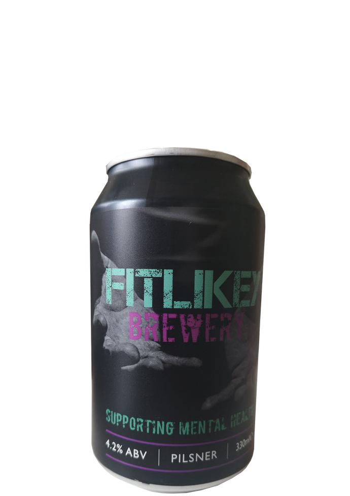 Fitlikey Pilsner Supporting Mental Health