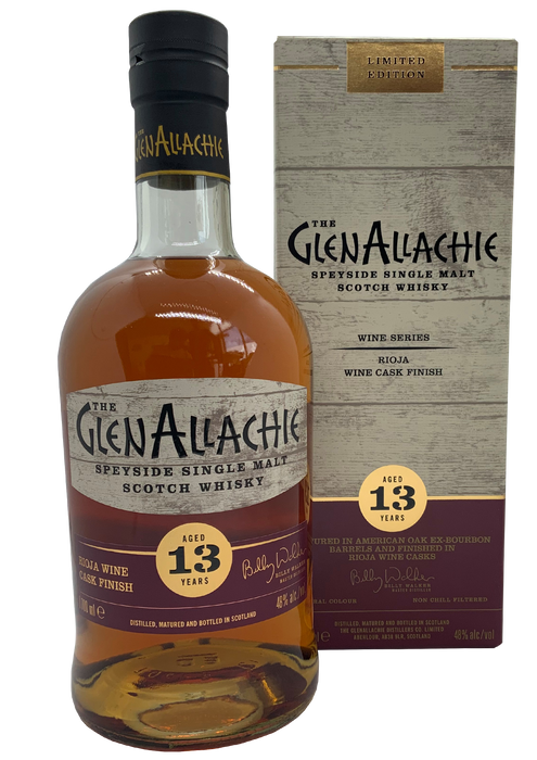 GlenAllachie Wine series Rioja Finish 13 Year Old 70cl