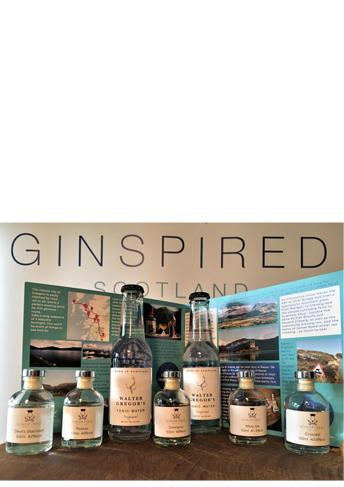 Ginspired Scotland Gin Tasting Tour Route 1