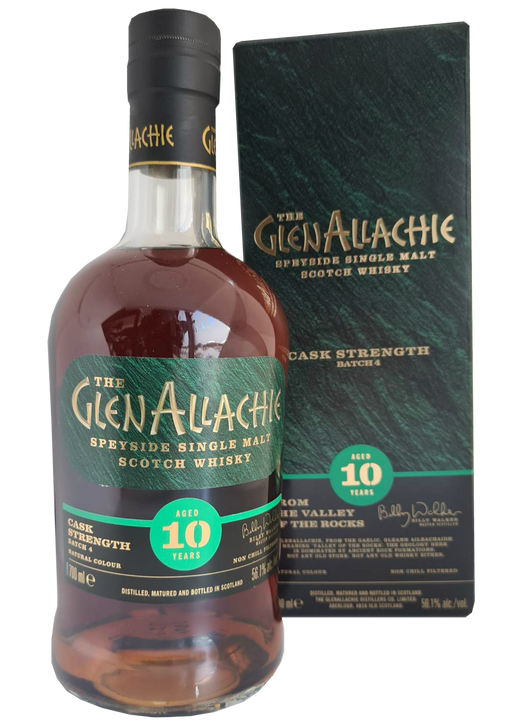GlenAllachie 10 Year Old Batch 4