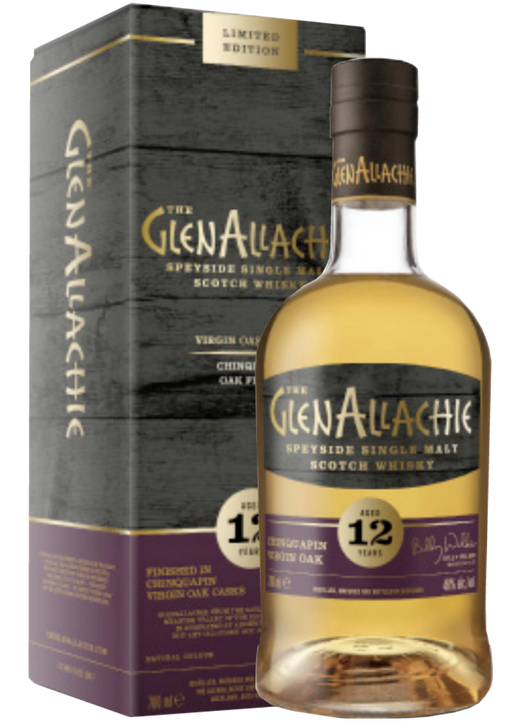 GlenAllachie 12 Year Old Chinquapin Virgin Oak