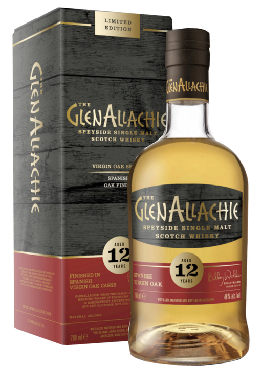 GlenAllachie 12 Year Old Spanish Virgin Oak