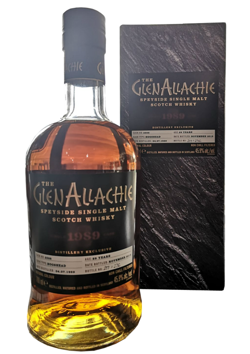 GlenAllachie Distillery Exclusive 1989 Sherry Hogshead #2588