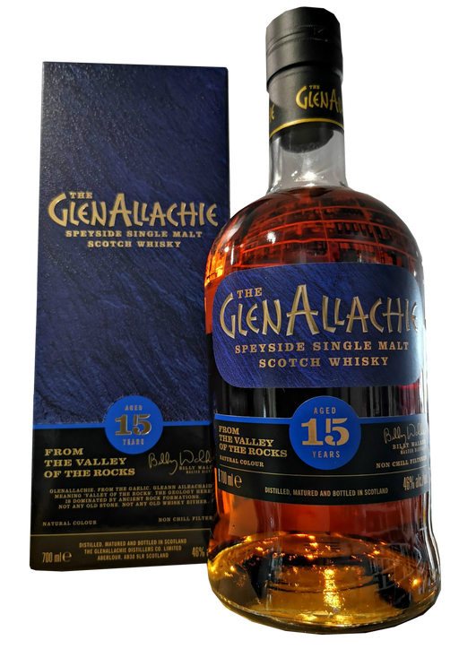 GlenAllachie 15 Year Old Sherry Cask