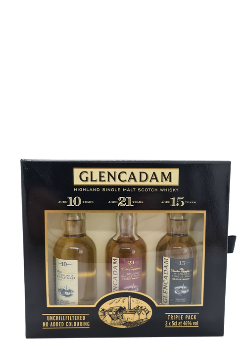Glencadam Triple Pack