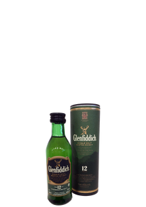 Glenfiddich 12 Year Old Miniature 5cl