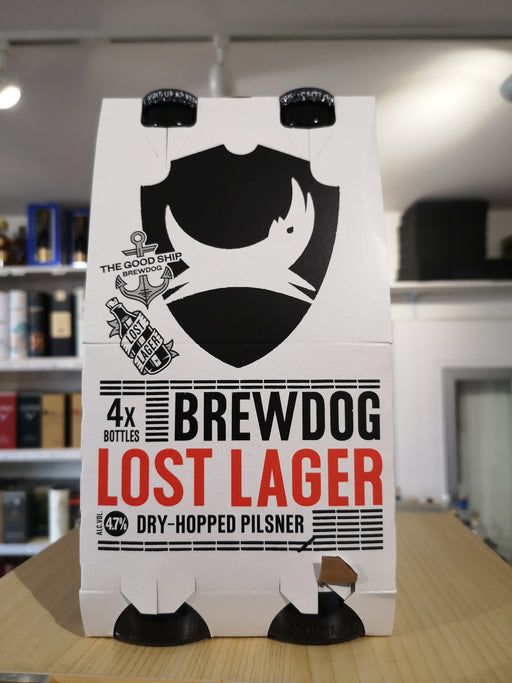 Brewdog Lost Lager 4 can pack
