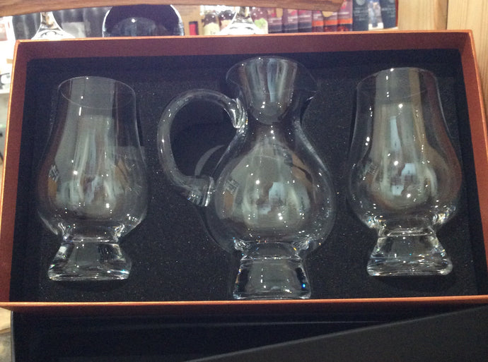 Glencairn Jug and 2 Glass set