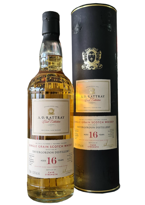 A.D. Rattray Invergordon Grain 16 Year Old