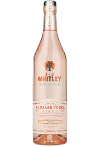 Rhubarb Vodka J.J Whitley