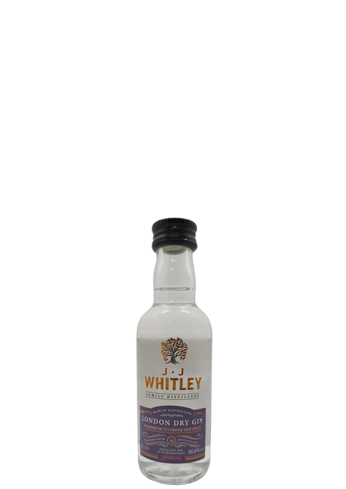 J.J Whitley London Dry Gin Miniature