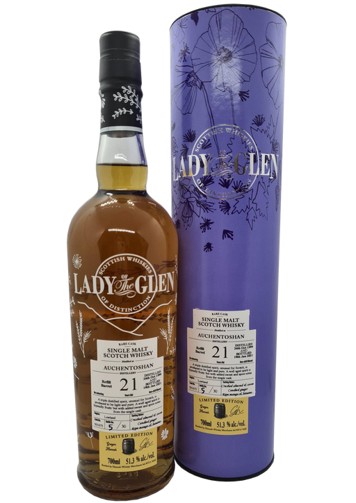 Lady of the Glen Auchentoshan 21 Year Old 70cl