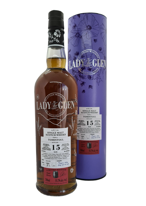 Lady of The Glen Tomintoul 15 Year Old