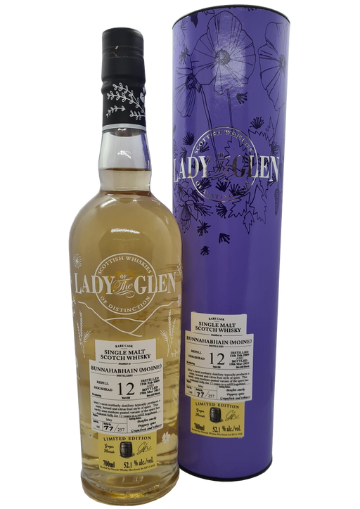 Lady of the Glen Bunnahabhain 12 Year Old Peated Single Malt