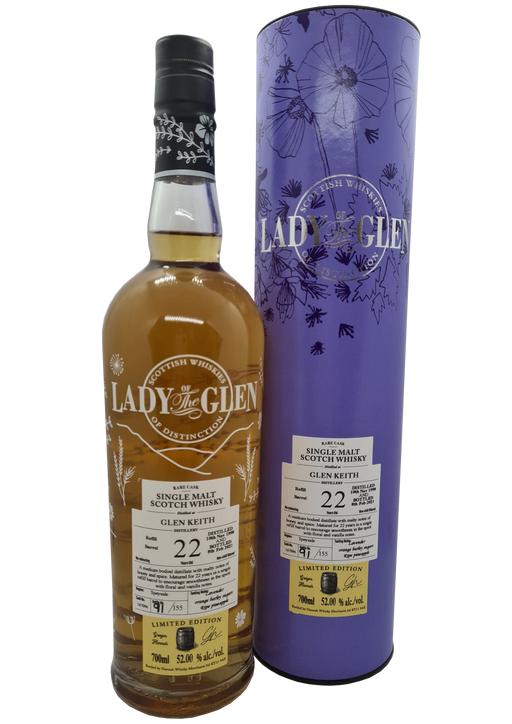 Lady of the Glen Glen Keith 22 Year Old  70cl