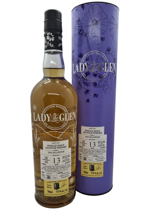 Lady of the Glen Inchgower 13 Year Old PX Hogshead Finish 70cl