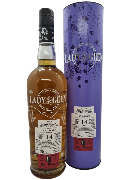 Lady of the Glen Orkney 14 Year Old 2007 Oloroso Finish