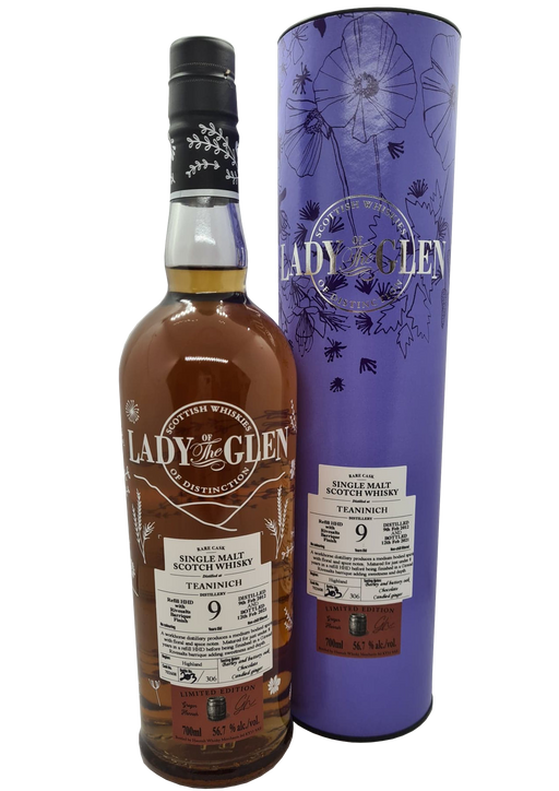 Lady of the Glen Teaninich 9 Year Old Rivesalt Finish 70cl