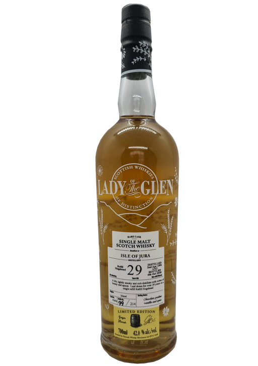 Lady of the Glen Jura 29 year old