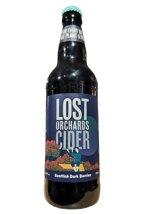 Lost Orchards Cider Scottish Dark Berries