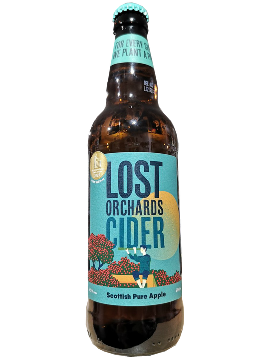 Lost Orchards Cider Scottish Pure Apple