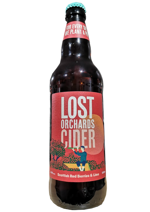 Lost Orchards Cider Scottish Red Berries and Lime