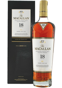 MacAllan 18 Year Old 2019 Sherry Cask Release