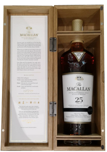 The MacAllan 25 Year Old Sherry Cask 2018 Release