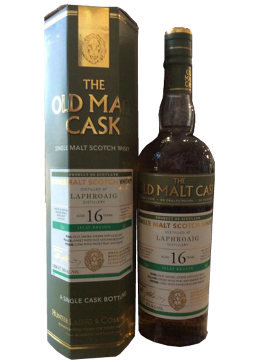 Old Malt Cask - Laphroaig 16 Year Old