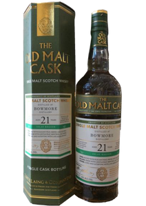 Old Malt Cask- Bowmore 21 Year Old