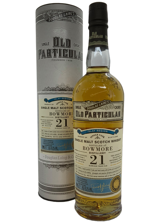 Douglas Laing Old Particular Bowmore 21 Year Old 1998