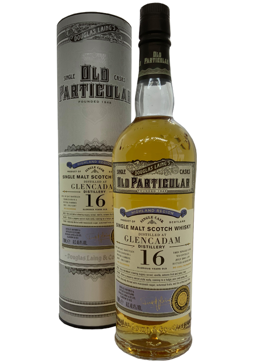 Douglas Laing Old Particular Glencadam 16 Year Old 2004