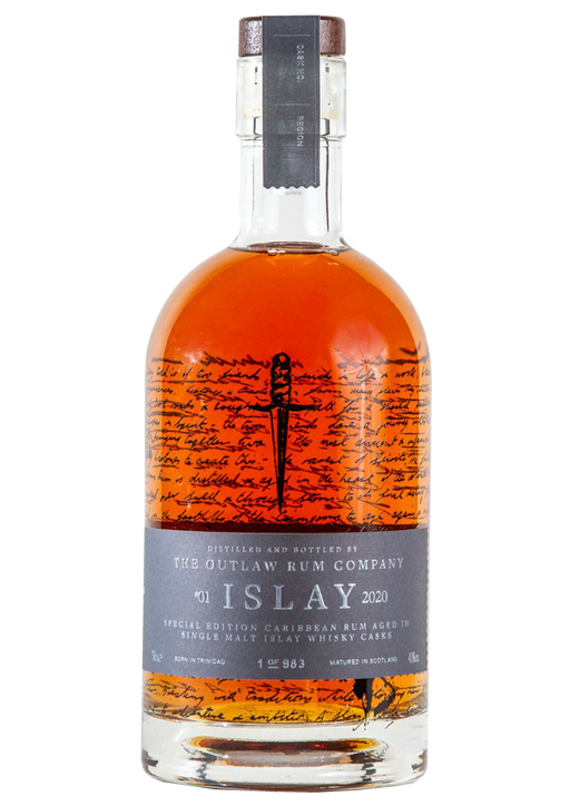 Outlaw Rum Islay Cask Release