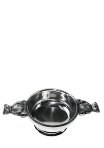 Pewter Quaich with bear handles