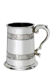 Pewter Tankard with Kell's Design