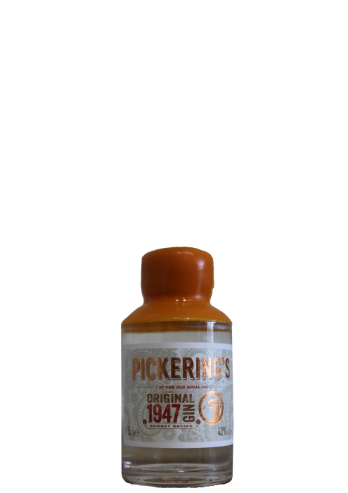 Pickerings 1974 Gin miniature