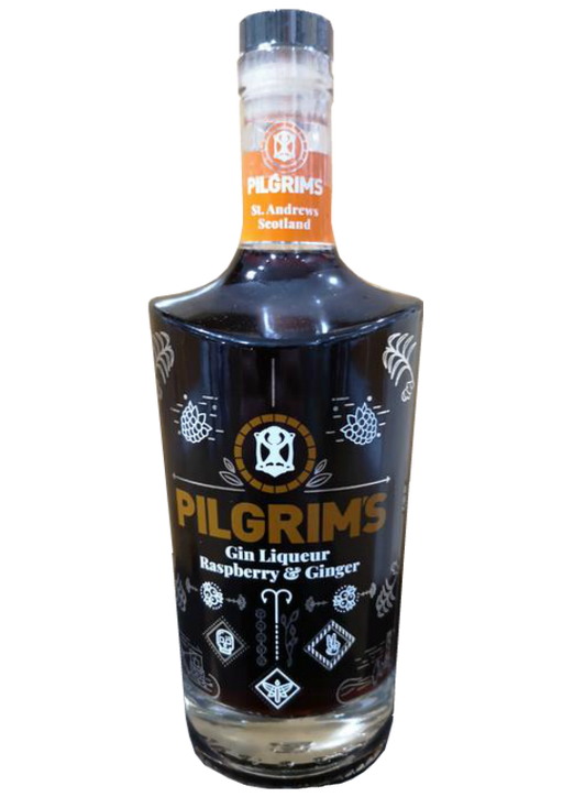 Pilgrims Raspberry and Ginger Liqueur