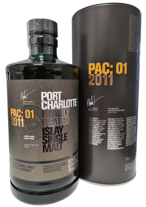 Port Charlotte PAC:01 70cl