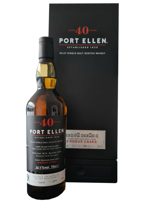 Port Ellen 40 Year Old 9 Rogue Casks