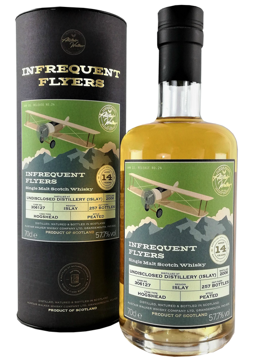 Infrequent Flyers Undisclosed Islay Distillery 14 Year Old